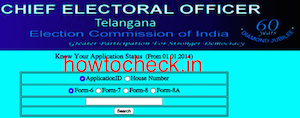 Check the Status of Your Voter ID card hyderabad